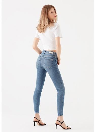 Mavi Tess Gold Shape  Jean Pantolon Mavi